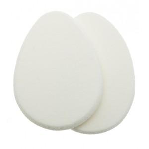 Губка макияжная Dewal, овальная (2 шт./упак) арт.H08