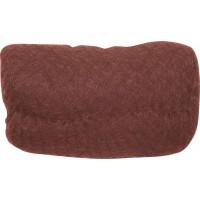 Валик для прически DEWAL, искусственный волос+сетка, рыжий 18х11 см арт.HO-PC Red Brown