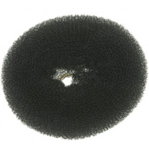Валик для прически DEWAL, сетка, черный d10см арт.HO-5149Black