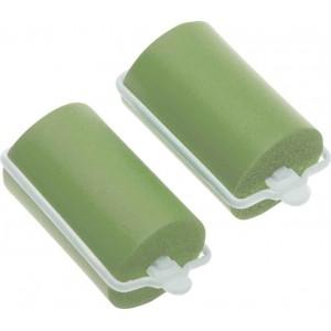 Бигуди резиновые Dewal Beauty d 38ммx70мм(10шт) зеленые арт.DBRZ38