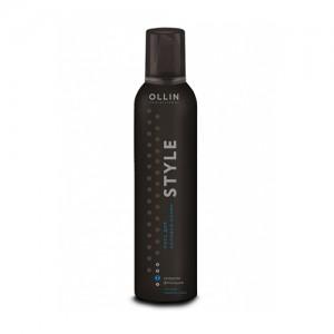 OLLIN STYLE Мусс для укладки волос средней фиксации 250мл/ Mousse Medium Hold