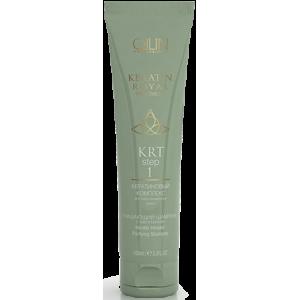 OLLIN KRT Очищающий шампунь с кератином 100мл