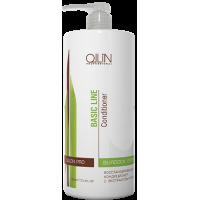 OLLIN BASIC LINE Восстанавливающий кондиционер с экстрактом репейника 1000мл/ Reconstructing Conditi