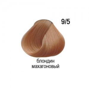 OLLIN COLOR 9/5 блондин махагоновый 60мл Перманентная крем-краска для волос