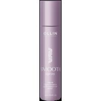 OLLIN SMOOTH HAIR Термозащитный разглаживающий спрей 120мл / Thermal protection smoothing spray
