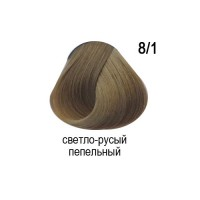 OLLIN COLOR 8/1 светло-русый пепельный 60мл Перманентная крем-краска для волос
