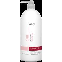 OLLIN CARE Шампунь против выпадения волос с маслом миндаля 1000мл/ Almond Oil Shampoo