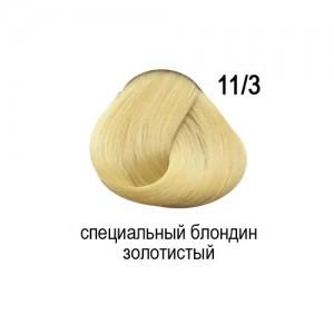 OLLIN COLOR 11/3 специальный блондин золотистый 60мл Перманентная крем-краска для волос