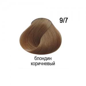 OLLIN COLOR 9/7 блондин коричневый 60мл Перманентная крем-краска для волос