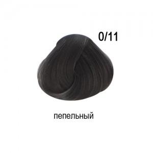 OLLIN COLOR 0/11 корректор пепельный 60мл Перманентная крем-краска для волос