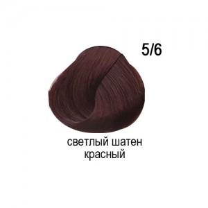 OLLIN COLOR 5/6 светлый шатен красный 60мл Перманентная крем-краска для волос