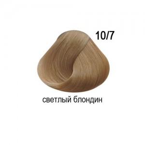 OLLIN COLOR 10/7 светлый блондин коричневый 60мл Перманентная крем-краска для волос