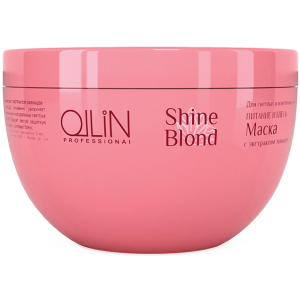 OLLIN SHINE BLOND Маска с экстрактом эхинацеи 300мл