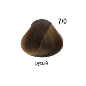 OLLIN COLOR 7/0 русый 60мл Перманентная крем-краска для волос