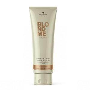 BlondMe Shampoo Rich Caramel Шампунь для поддержания теплых оттенков блонд 250 мл.