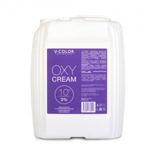 V-COLOR Oxy Cream 3% (10) Крем-перекись с ухаживающим маслом канистра 4л.