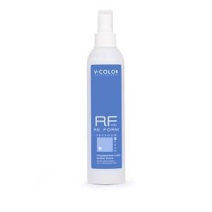 V-COLOR RE FORM Pro 250мл. Кондиционер-спрей БАЛАНС ВЛАГИ для легкого расчесывания сухих волос с липидным комплексом и аминокислотами шёлка