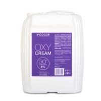 V-COLOR Oxy Cream 9% (30) Крем-перекись с ухаживающим маслом канистра 4л.